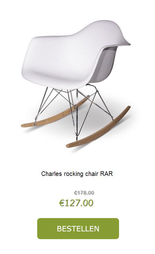 Eames schommelstoel replica