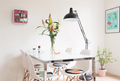 Eames stoel zitkussens