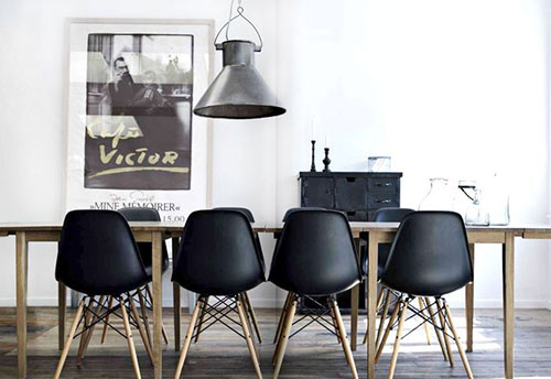 Eames stoel interieur inrichting for Inspiration dsw