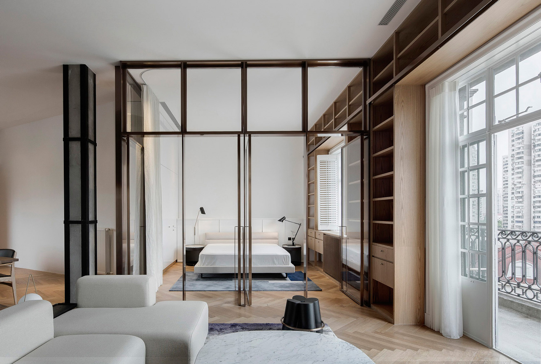 Een indrukwekkend mooi appartement in Shanghai