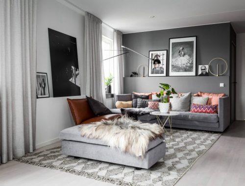 Grijze woonkamer tafels gehoor geven aan uw huis - Een kleine rechthoekige woonkamer geven ...