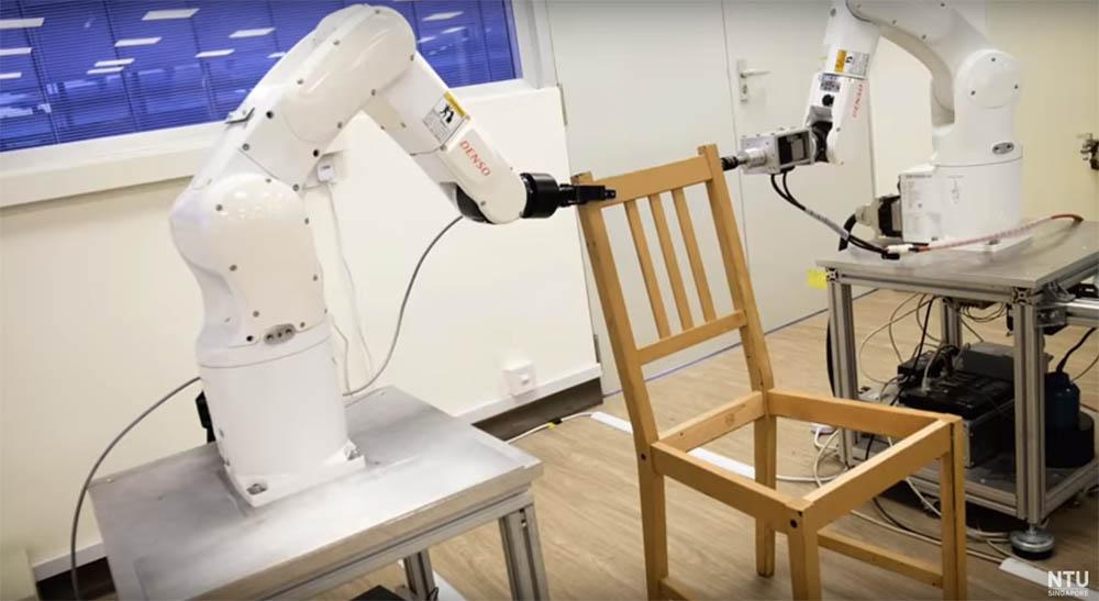 Een robot die je IKEA meubel in elkaar zet!