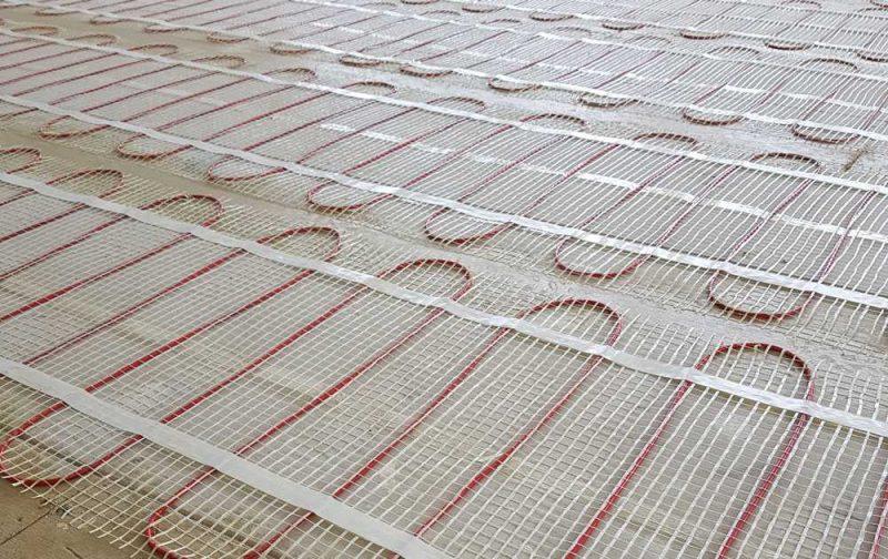 elektrische vloerverwarming draden