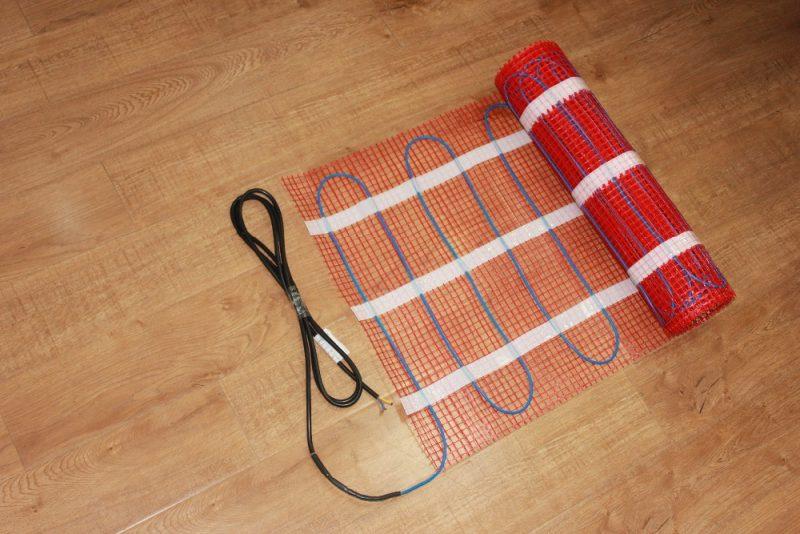 elektrische vloerverwarming mat