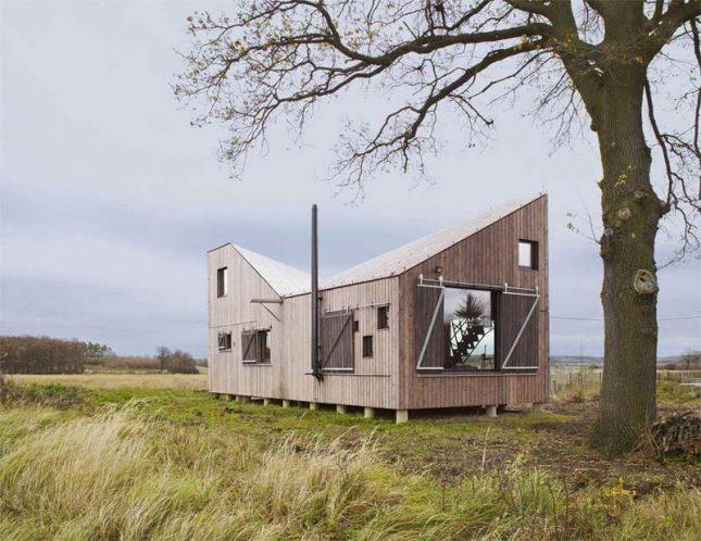 energiezuinig houten huis