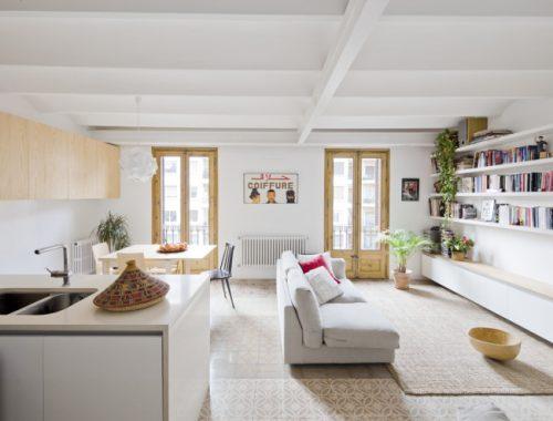 Exotische woonkamer uit Barcelona