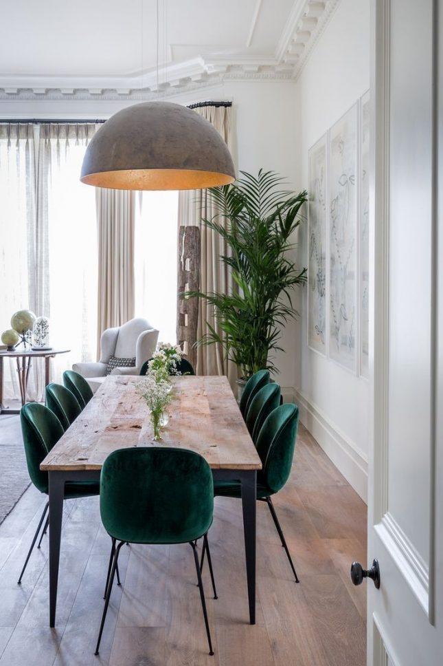 smaragdgroene stoelen