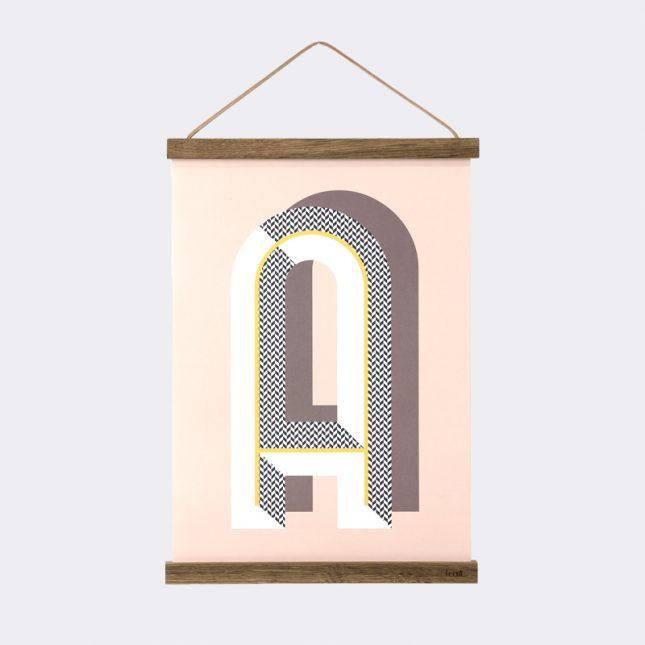 Ferm Living poster hanger