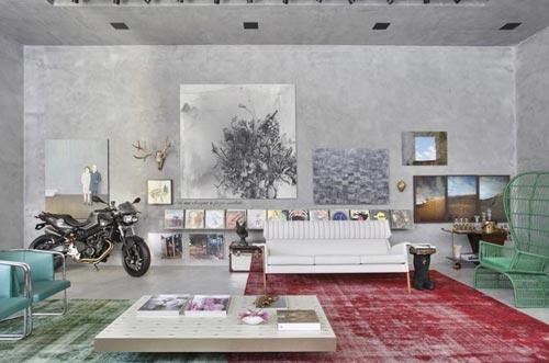 Woonkamer inrichten modern : Fictieve woonkamer inrichten Interieur ...
