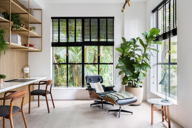fijne thuiswerkplek eames lounge chair