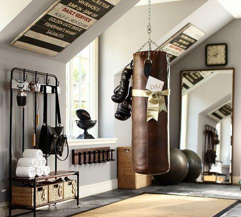 Fitness ruimte in huis