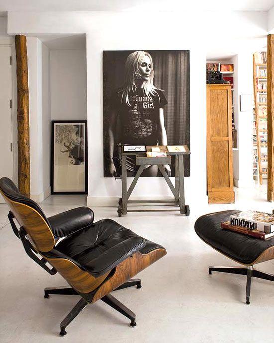 Foto 39 s aan de muur interieur inrichting - Poltrona design low cost ...