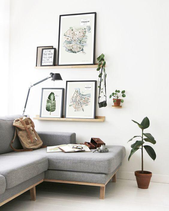 Fotolijst houder inspiratie : Interieur inrichting