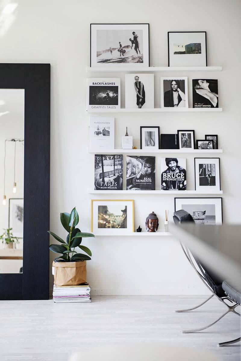 fotowand maken schilderijplank
