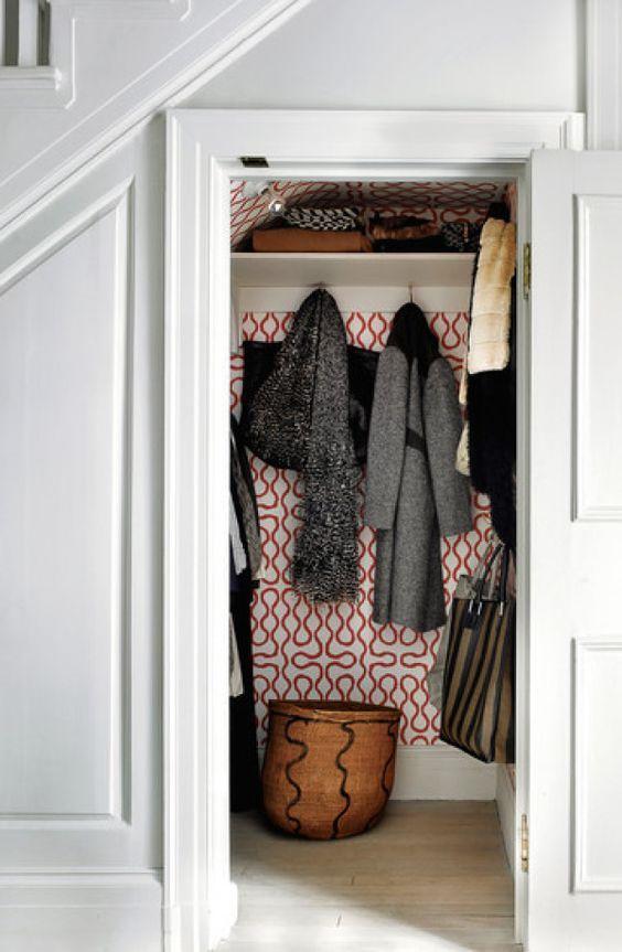Garderobe trapkast