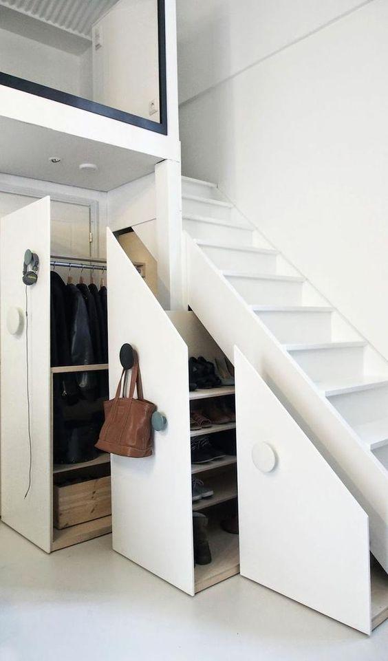 Garderobe trapkast | Interieur inrichting