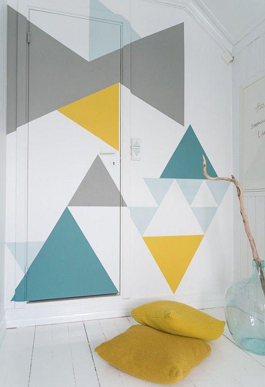geometrische-vormen-muur-schilderen
