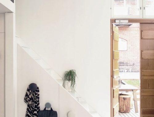 Minimalistisch interieur schoenenkasten minimalistisch dressoir