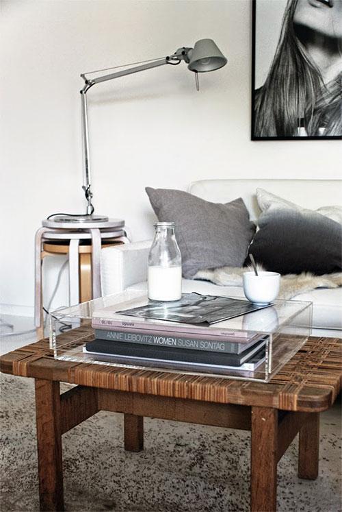 Gezellige woonkamer van interieurstylist Pella Hedeby