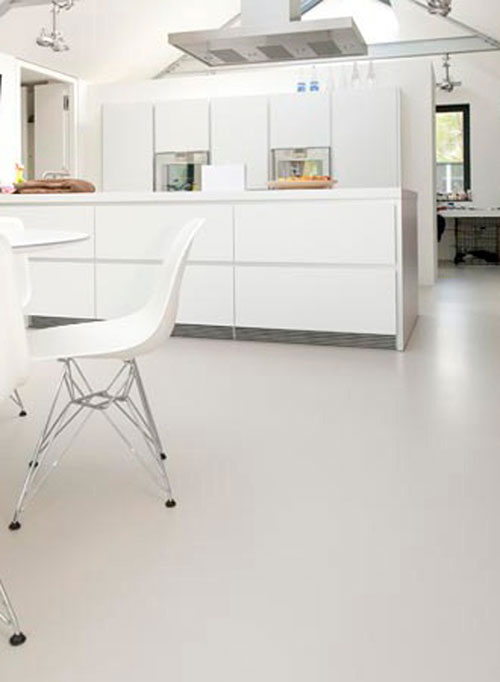 Gietvloer Voor Keuken : Gietvloer in de keuken Interieur inrichting