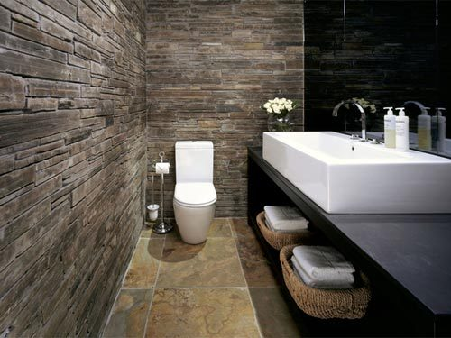 Glamorous luxe toilet