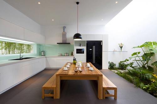 glazen achterwand keuken  interieur inrichting, Meubels Ideeën