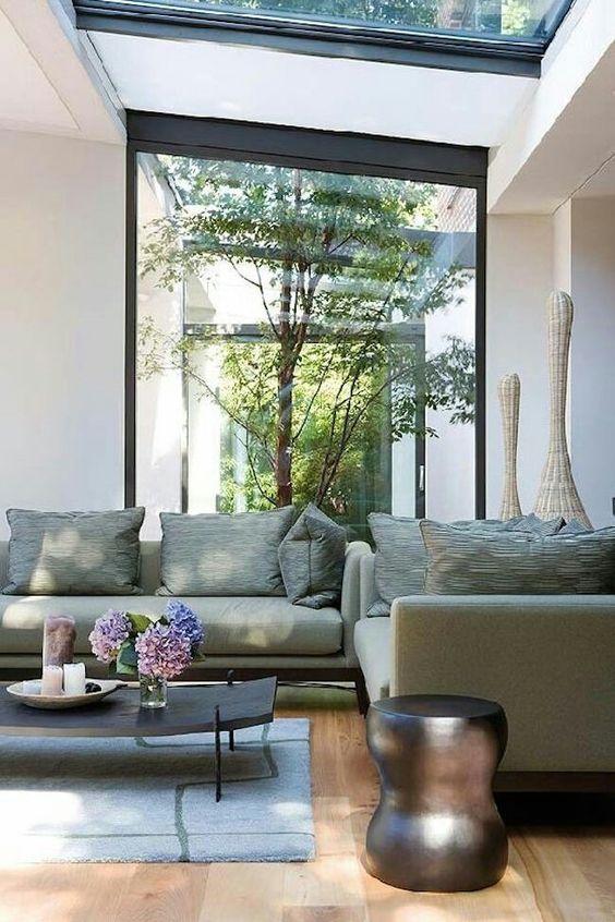 Glazen atrium