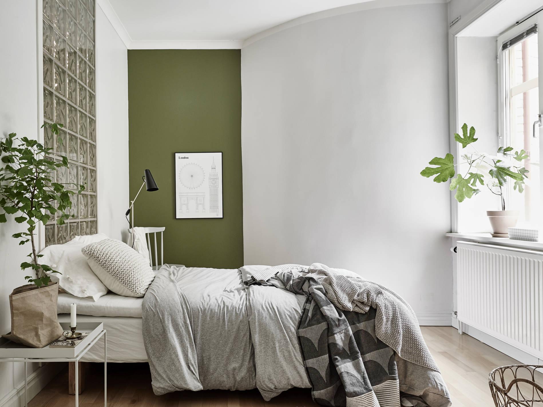 Slaapkamer met mooie kleine details   Interieur inrichting