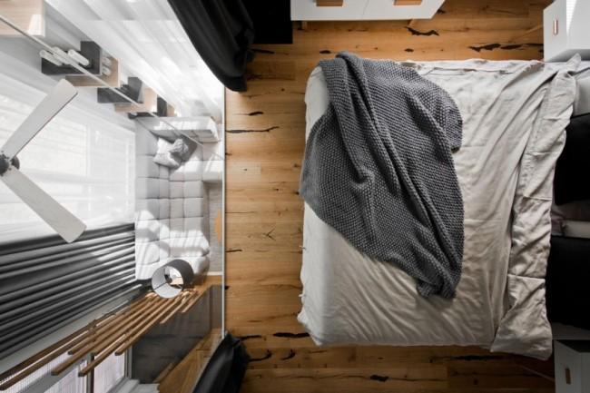 Design Commode Slaapkamer : Glazen wand in slaapkamer biedt uitzicht ...