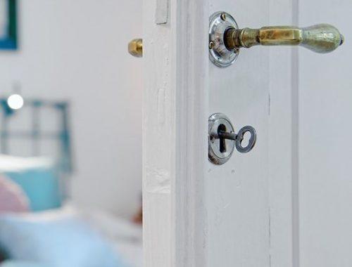 Gouden deurgrepen