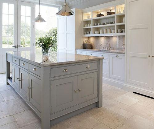 Grijze Keuken Interieur Inrichting