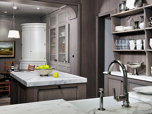 Keuken Antraciet Grijs : Grijze keuken Interieur inrichting