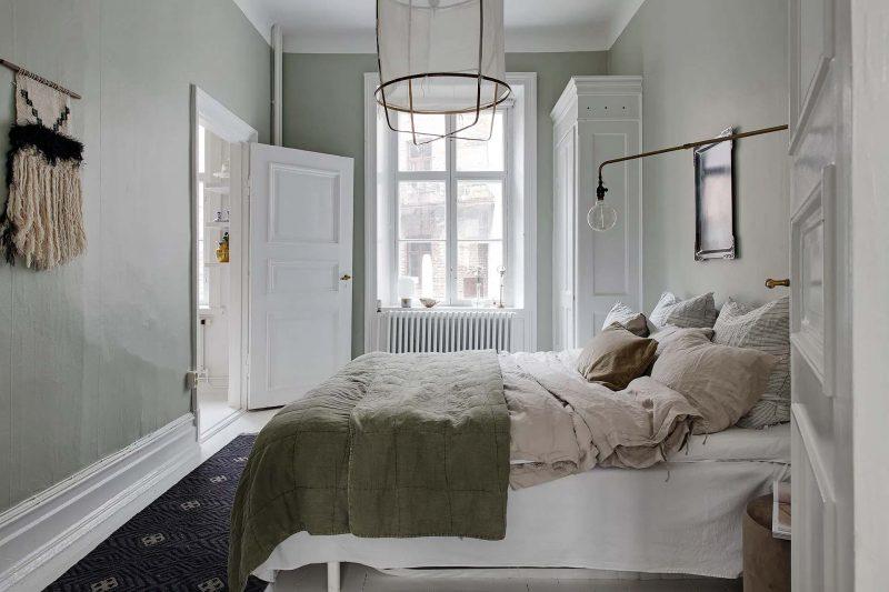 groene slaapkamer decoratie