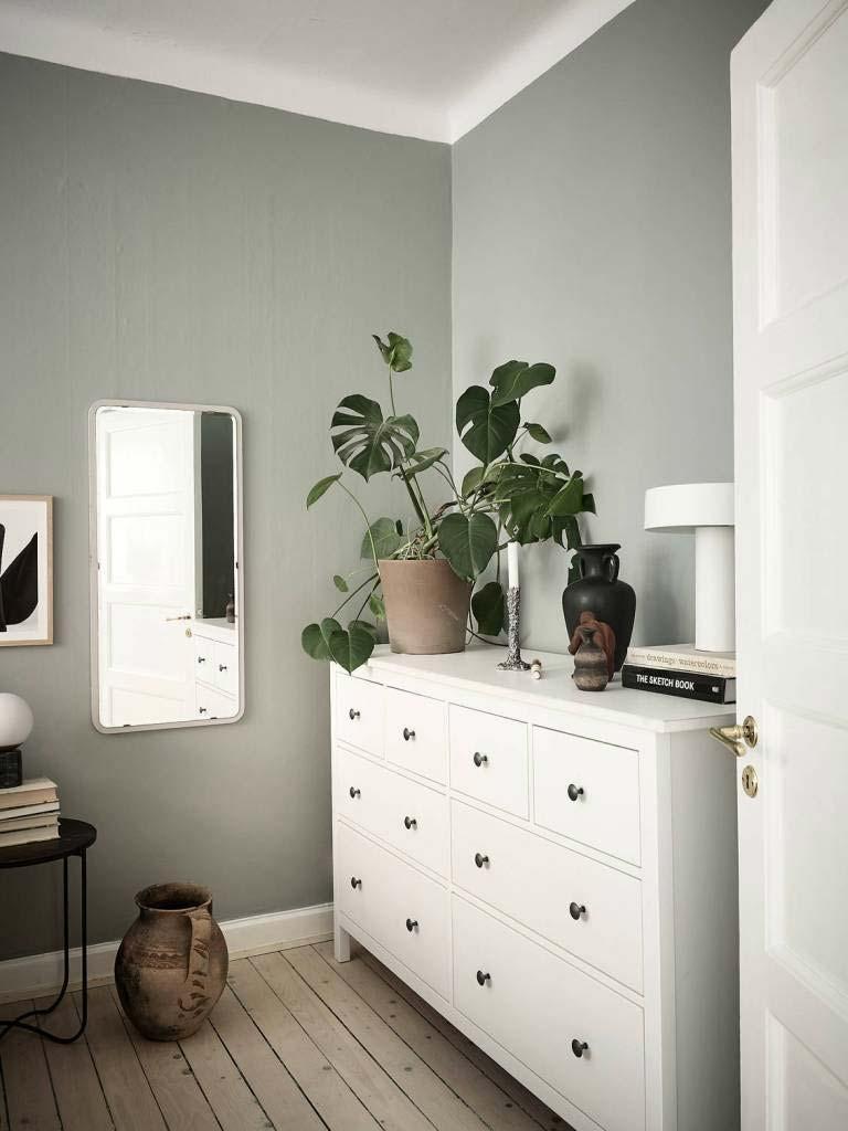groene slaapkamer planten