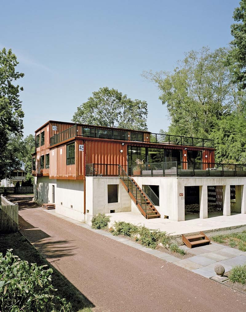 grote containerwoning