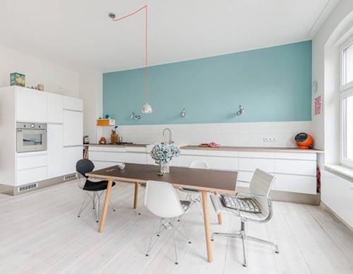 Grote half open keuken interieur inrichting - Idee deco keuken ...