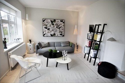 Grote schilderij in de woonkamer | Interieur inrichting