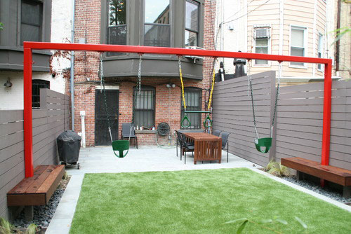 Huis met veel buitenruimtes interieur inrichting for Ideeen voor tuin