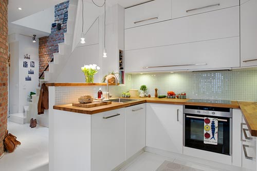 Kleine Keuken Inrichten Ikea : Half open keuken uit G?teborg Interieur inrichting