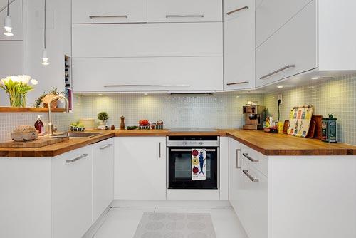 Half open keuken uit G u00f6teborg   Interieur inrichting