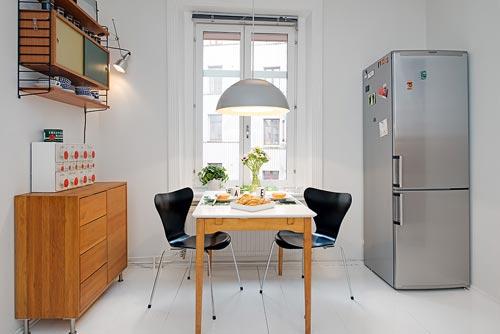 Half open keuken uit Göteborg