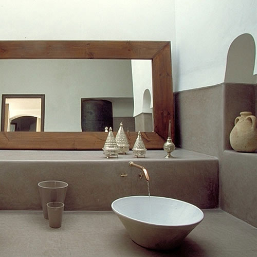 Hammam badkamer interieur inrichting for Salle de bain en tadelakt
