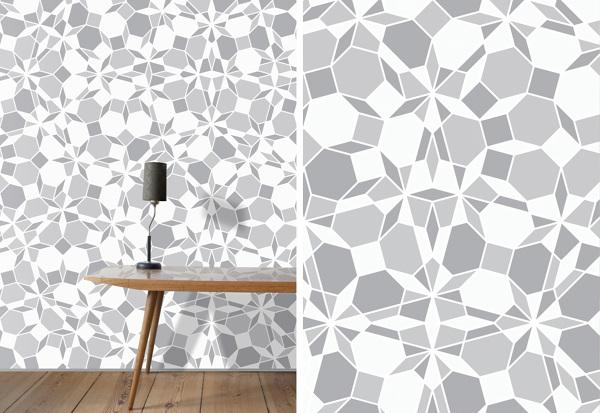 Handgemaakte mozaïek keramiektegels van Anne Dérian