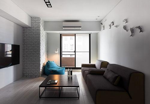 Handige tips voor inrichting kleine woning interieur inrichting - Modern deco appartement ...