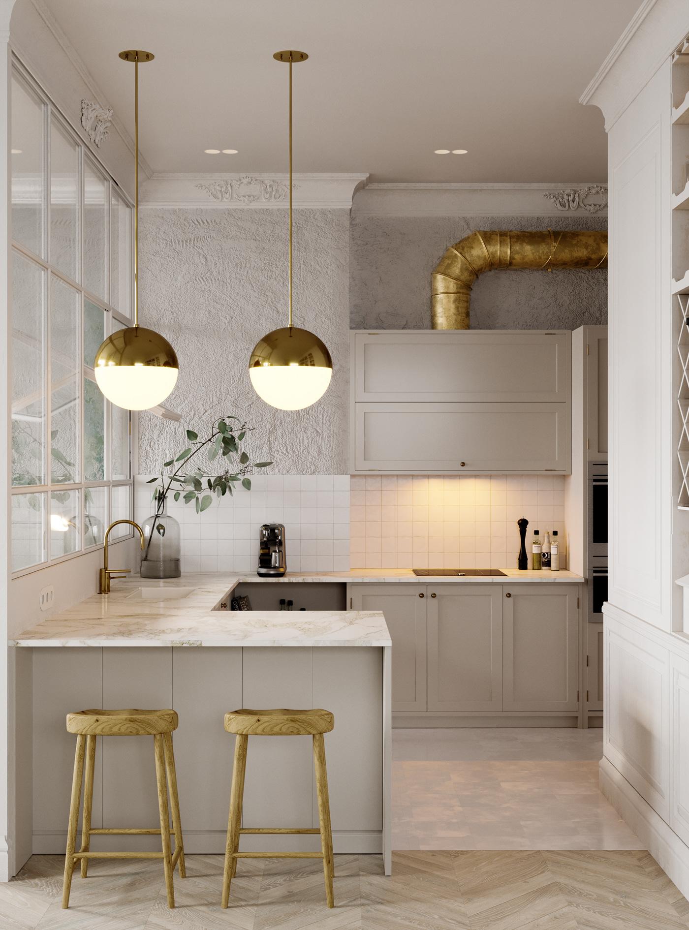 Super Hanglamp boven de keuken – Interieur inrichting TR-52