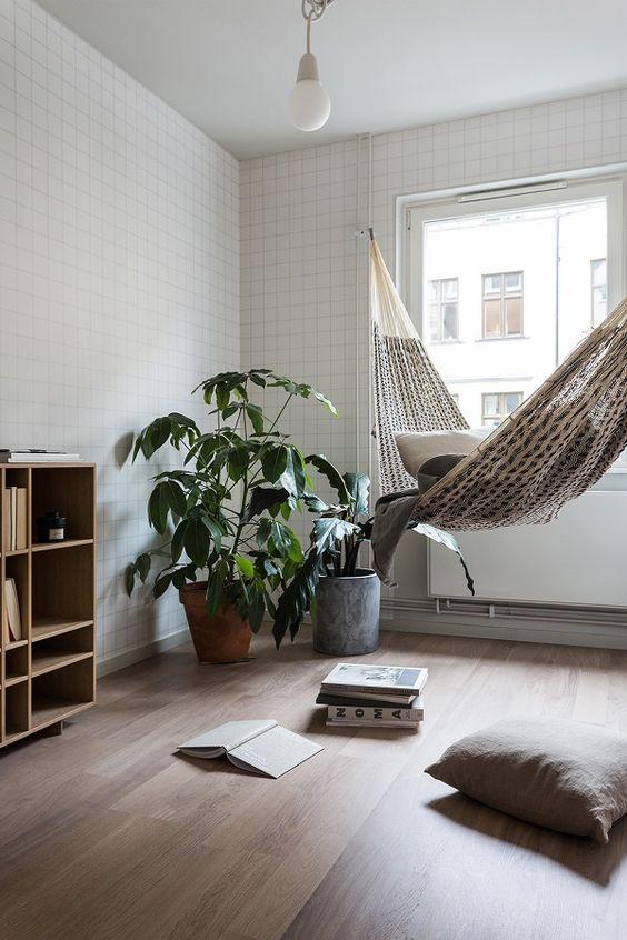 Hangmat in huis | Interieur inrichting