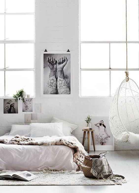 Schommelstoel Aan Het Plafond.10x Hangstoel In De Slaapkamer Interieur Inrichting