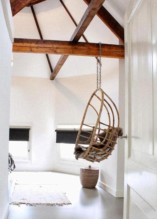 Een hangstoel met standaard te koop bij wehkamp quotes - Kamer met balken ...