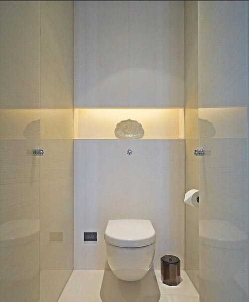 hangtoilet interieur inrichting. Black Bedroom Furniture Sets. Home Design Ideas