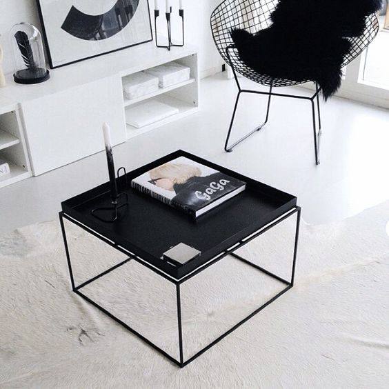 hay tray table serie interieur inrichting. Black Bedroom Furniture Sets. Home Design Ideas